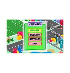Game assets element vector