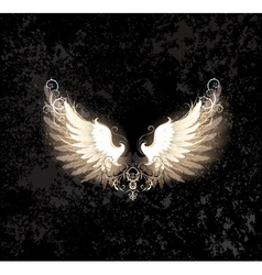 Light wings vector