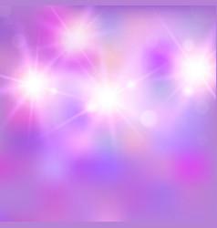 Shiny bright light vector