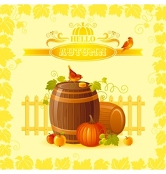 Thanksgiving of beautiful vector