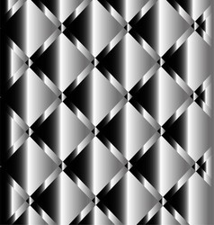 Silver background of metal texture vector
