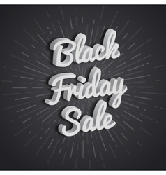 Poster black friday vector