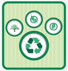 Eco friendly retro vector