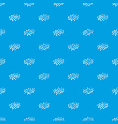 boom explosion bubble pattern seamless blue vector image vector image