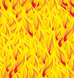 Fire seamless pattern flames background flame vector