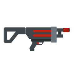 Game gun icon isolated vector