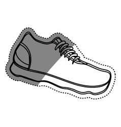 Sport sneaker isolated vector image vector image