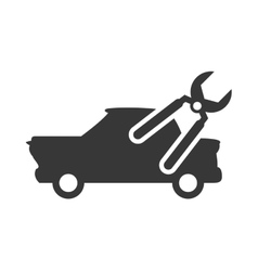 Pliers repair car automobile design vector