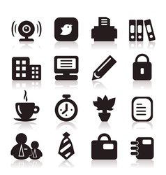 Office icons6 vector
