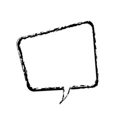 Comic speech bubble talking communication sketch vector