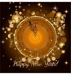 Happy New Year 2017 backgroundTypographic vector image