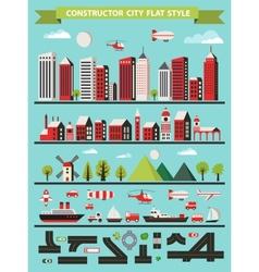 Urban constructor vector image