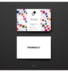 Set of brochure poster design templates in dna vector