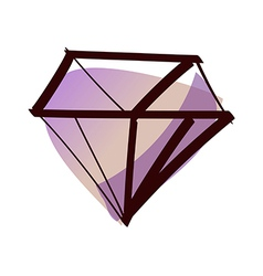 A diamond vector