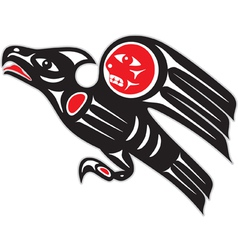 eagle - native american style vector image