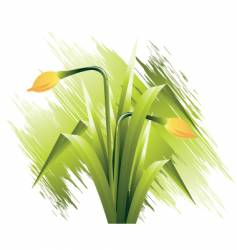 flowers illustration vector image