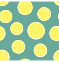 Lemon background seamless pattern vector