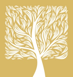 art tree vector image vector image