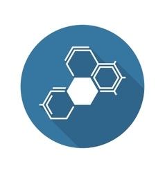 Biochemistry Icon Flat Design vector image vector image