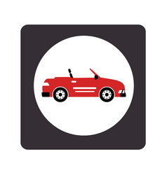 Car sport vehicle icon vector