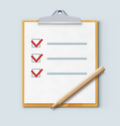 check list vector image