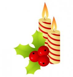 christmas staff vector image vector image