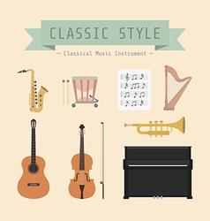 classicalmusic vector image vector image