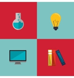 Education and academia related icons image vector