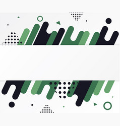 modern abstract shapes vector image vector image