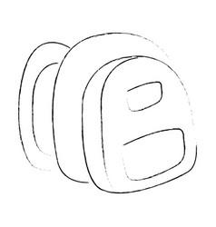 Sketch of a bagpack vector