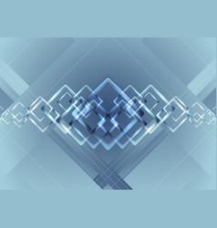 blue vibrant technology background vector image