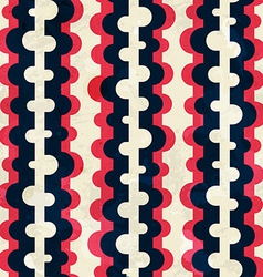 curved stripes seamless pattern vector image