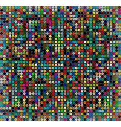 Background with colored squares vector