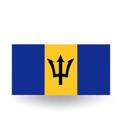 Barbados flag vector