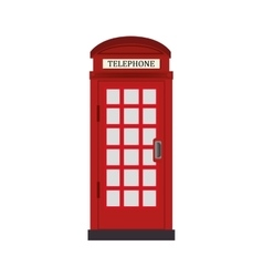Telephone cabin london icon graphic vector