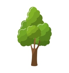 Tree green nature vector