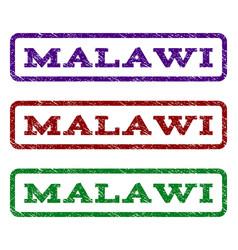 Malawi watermark stamp vector