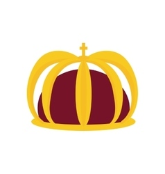 Crown icon royalty design graphic vector