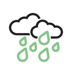 Heavy Rain vector image