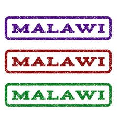 Malawi watermark stamp vector
