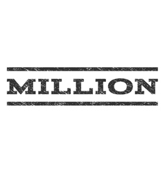 Million watermark stamp vector