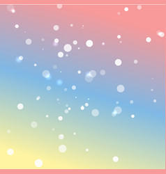 Romantic pastel colors background vector