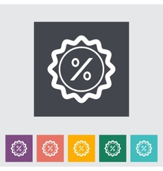 Percent label vector