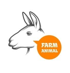 Alpaca Farm vector image vector image