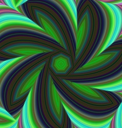 Geometric abstract fractal design background vector