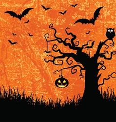 grunge halloween background 2508 vector image vector image