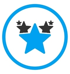 Hit parade icon vector