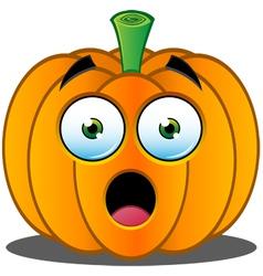 Pumpkin face - 1 vector