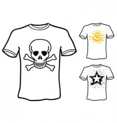 t shirt designs vector image