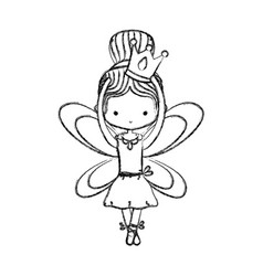 Ballet dancer design vector